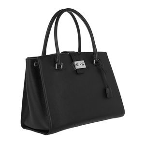 Michael Kors Studio Bond Large Black Satchel NWT